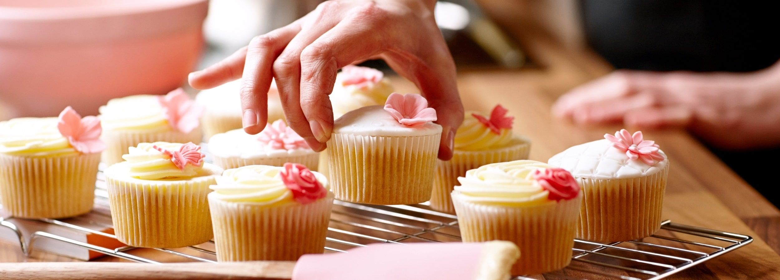 Cupcakes can contain starches, sugars and naturally occurring sweeteners