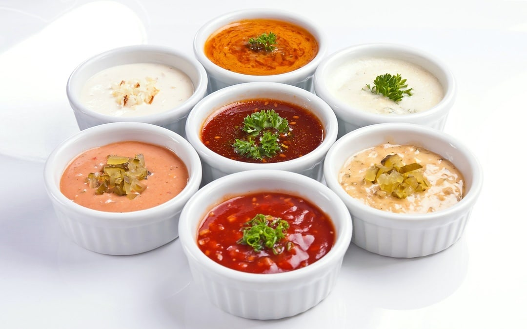 sauces can contain various starches.